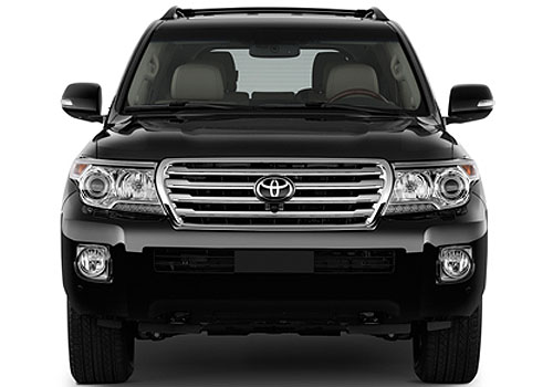 Toyota Land Cruiser Front View Exterior Picture