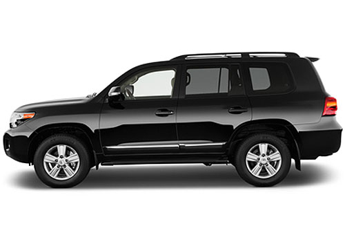Toyota Land Cruiser Front Angle Side View Exterior Picture