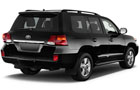 Toyota Land Cruiser Rear Angle View Picture