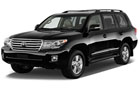 Toyota Land Cruiser Front Angle View  Picture