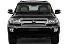 Toyota Land Cruiser Front View Picture