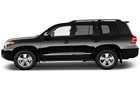Toyota Land Cruiser Front Angle Side View Picture