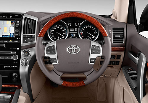 Toyota Land Cruiser Steering Wheel Interior Picture
