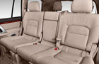 Toyota Land Cruiser Rear Seats Picture