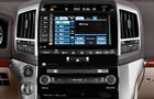 Toyota Land Cruiser Stereo Picture