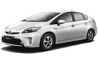 Toyota Prius Front & Rear Seats Picture