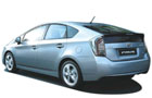 Toyota Prius in White Color