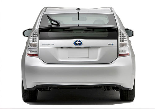 Toyota Prius Rear View Exterior Picture