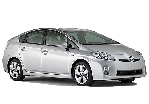 Toyota Prius Front Side View Exterior Picture
