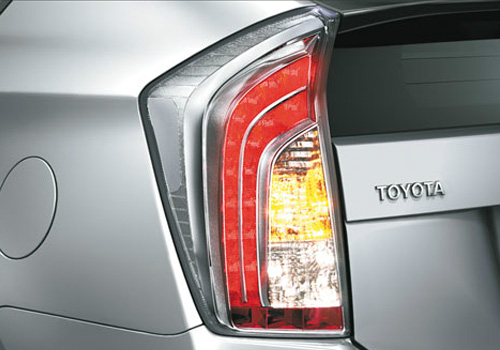 Toyota Prius Tail Light Exterior Picture