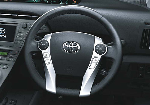 Toyota Prius Steering Wheel Interior Picture