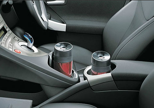 Toyota Prius Cup Holders Interior Picture