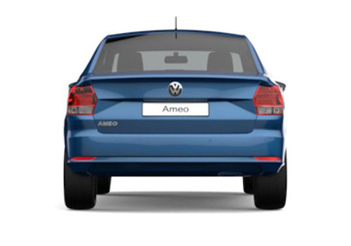 Volkswagen Ameo Rear View Exterior Picture