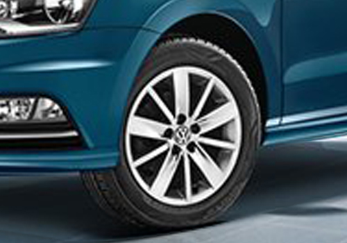 Volkswagen Ameo Wheel and Tyre Exterior Picture