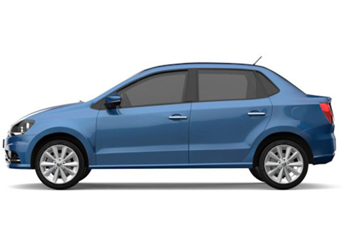 Volkswagen Ameo Front Angle Side View Exterior Picture