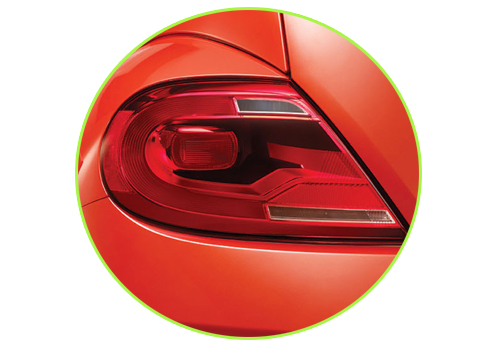 Volkswagen Beetle Tail Light Exterior Picture