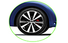 Volkswagen Beetle Wheel and Tyre Pictures