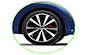 Volkswagen Beetle Wheel and Tyre