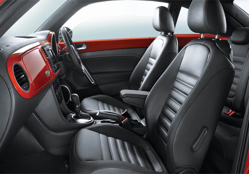 Volkswagen Beetle Front Seats Interior Picture