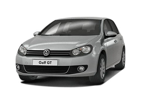 Volkswagen Golf Front High Angle View Exterior Picture