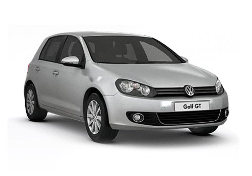 Volkswagen Golf Front Low Angle View Exterior Picture