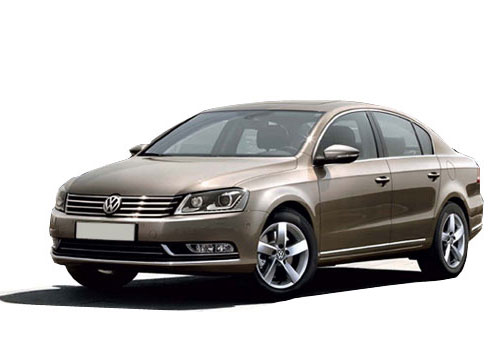 Volkswagen Passat Front Side View Picture