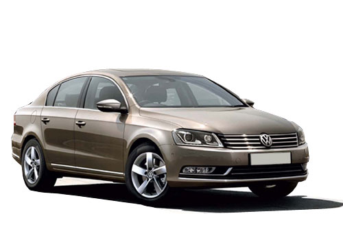 Volkswagen Passat Front Low Angle View Picture