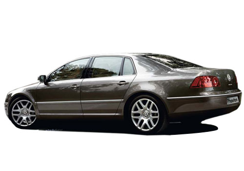 Volkswagen Phaeton Cross Side View Exterior Picture