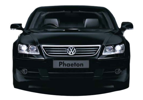 Volkswagen Phaeton Front View Exterior Picture
