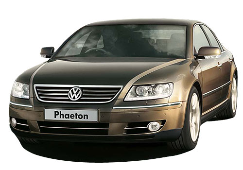 Volkswagen Phaeton Front High Angle View Exterior Picture