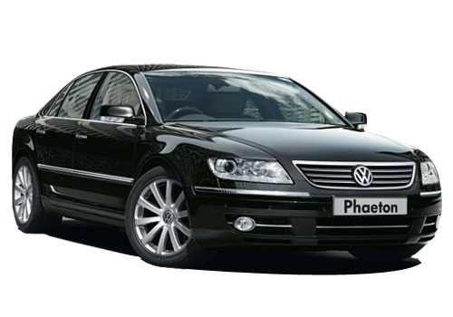 Volkswagen Phaeton Front Low Angle View Exterior Picture