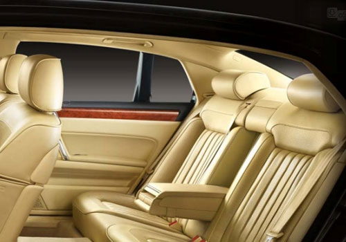 Volkswagen Phaeton Rear Seats Interior Picture