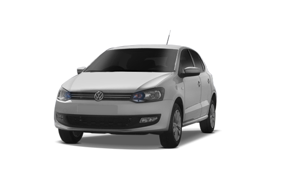 Volkswagen Polo Front High Angle View Exterior Picture