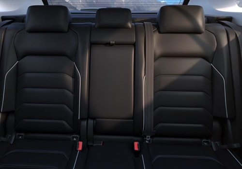 Volkswagen Tiguan Rear Seats Interior Picture