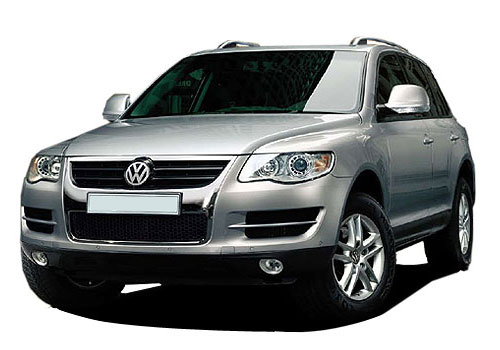 Volkswagen Touareg Front Side View Picture