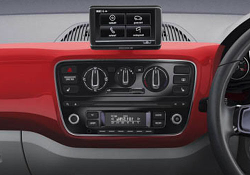 Volkswagen Up Rear AC Control Interior Picture