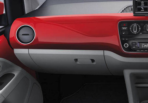Volkswagen Up Side AC Control Interior Picture