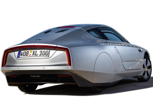 Volkswagen XL1 Rear Angle View Exterior Picture