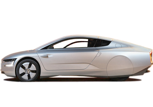 Volkswagen XL1 Front Angle Side View Exterior Picture