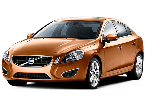Volvo S60 Front High Angle View Picture