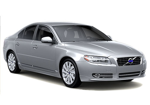 Volvo S80 Front Low Angle View Exterior Picture