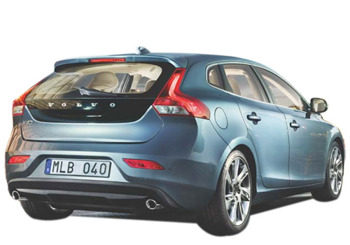 Volvo V40 Rear Angle View Exterior Picture