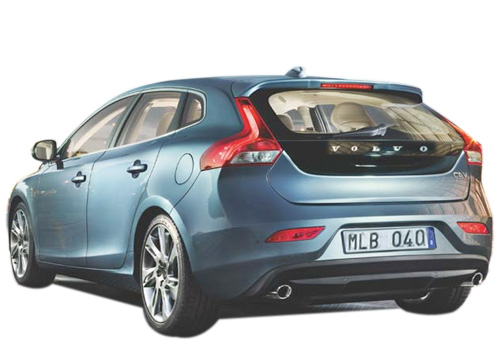 Volvo V40 Cross Side View Exterior Picture
