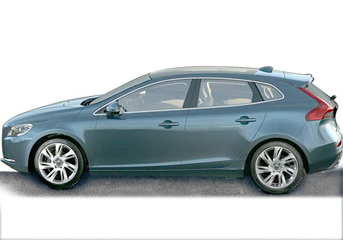 Volvo V40 Front Angle Side View Exterior Picture