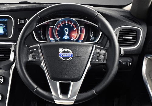 Volvo V40 Steering Wheel Interior Picture | CarKhabri.com
