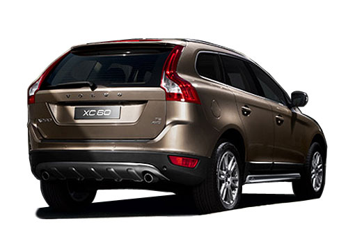 Volvo XC60 Rear Angle View Exterior Picture