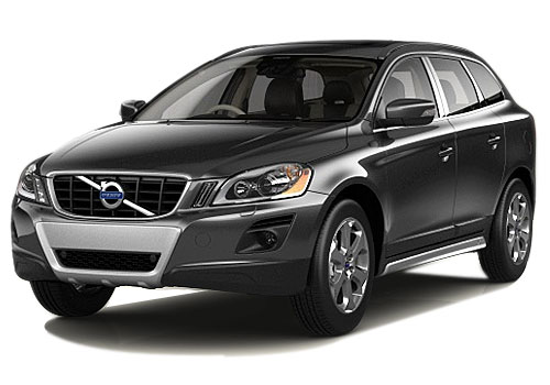 Volvo XC 60 Front Side View Picture