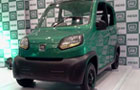 Bajaj RE60 waiting for the Renault-Nissan attention