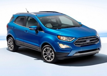 Ford Unveils Facelift EcoSport, India Launch in 2017