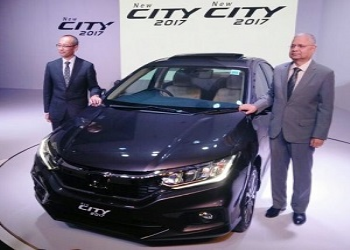 2017 Honda City Facelift Launched in India at INR 8.49 Lac